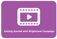 Erste Schritte mit Brightcove Campaign